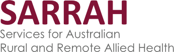 Sarrah Services for Australian Rural and Remote Allied Health