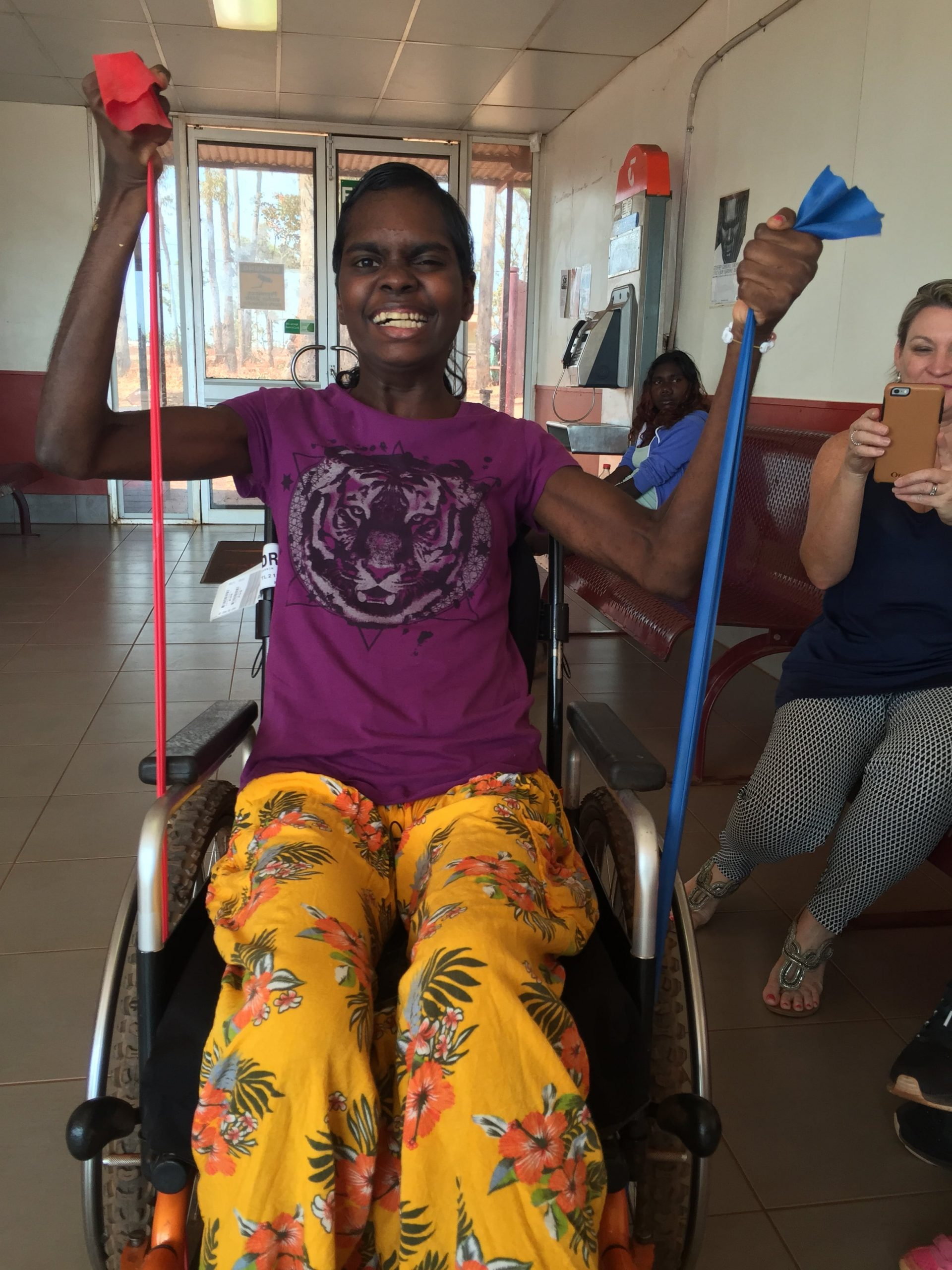 Active Performance Physiotherapy is an accredited National Disability Insurance Scheme provider working with indigenous Australians in remote communities living with disabilities in order to improve their quality of life